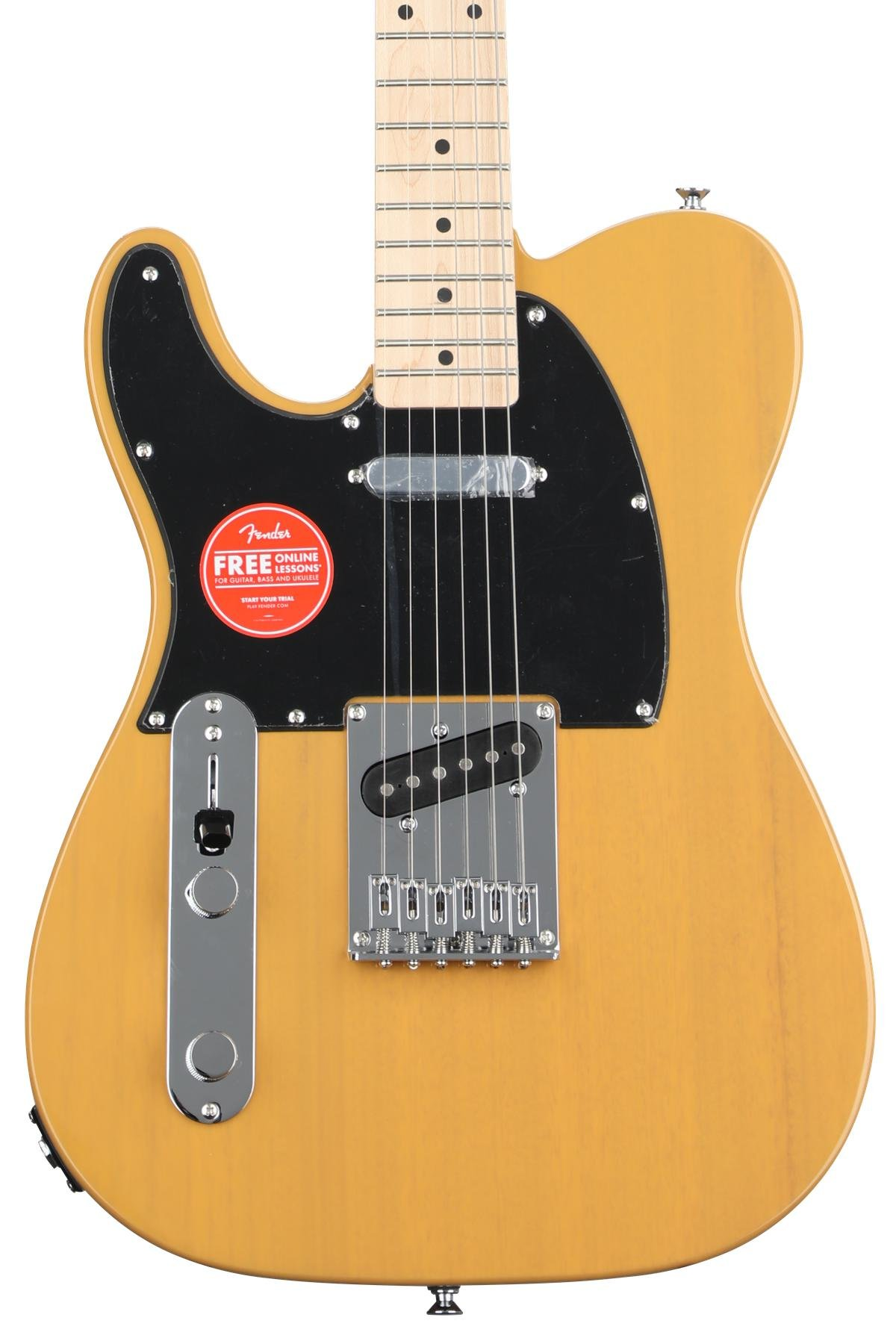 Jackson Js22 7 Wire Diagram Squier Affinity Series Telecaster Left Handed Butterscotch Blonde W Maple Fingerboard Image