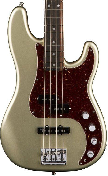 fender american elite precision bass champagne ebony fingerboard sweetwater. Black Bedroom Furniture Sets. Home Design Ideas
