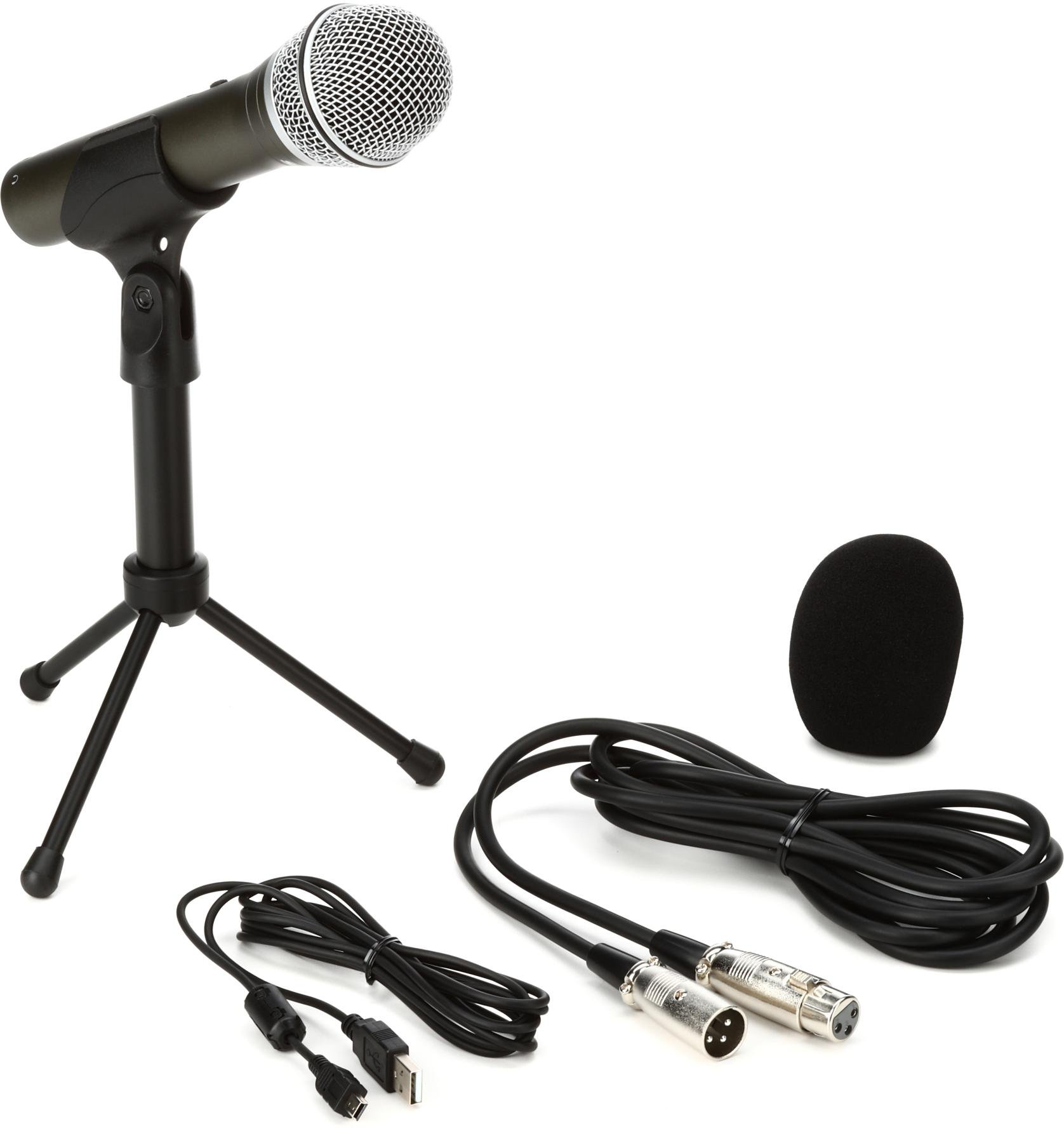 Samson Q2U Recording and Podcasting Pack USB/XLR Dynamic ...