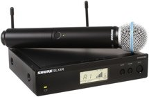 Shure BLX24R/B58 Handheld Wireless System - H10 Band