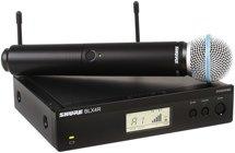 Shure BLX24R/B58 Handheld Wireless System - H10 Band