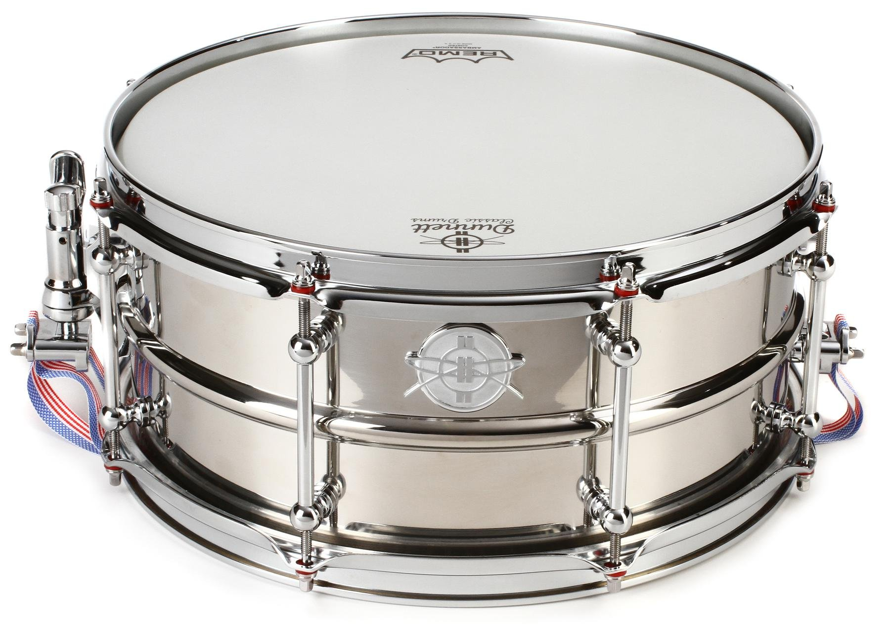 Dunnett Classic Model 2N Stainless Steel Snare Drum - 6.5\