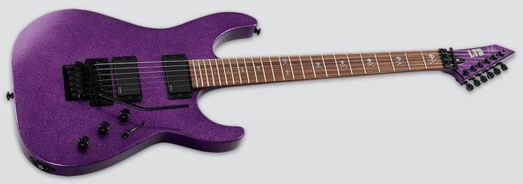 2eb2fd Screen Shot 2018 01 23 at 12.06.56 PM - ESP LTD Kirk Hammett Signature KH-602  Purple Sparkle W/Case