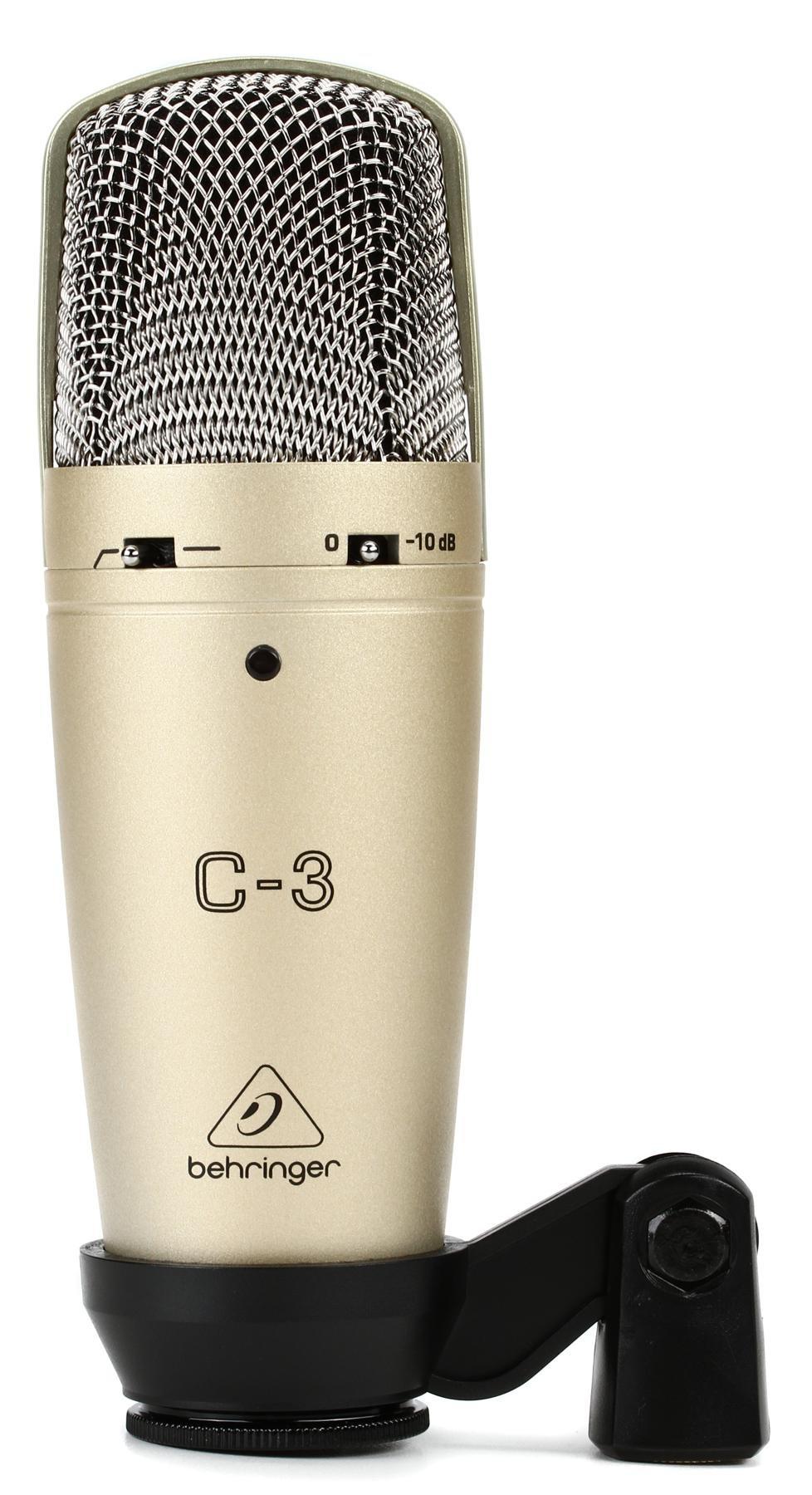 Behringer C 3 Dual Diaphragm Condenser Microphone Sweetwater Diagram Image 1