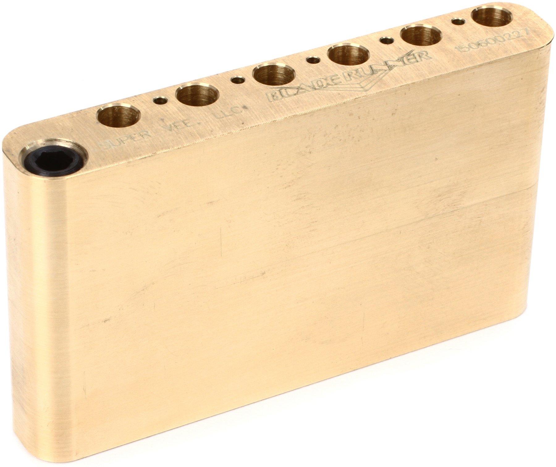 Super-Vee Sustain Tone Block - Brass