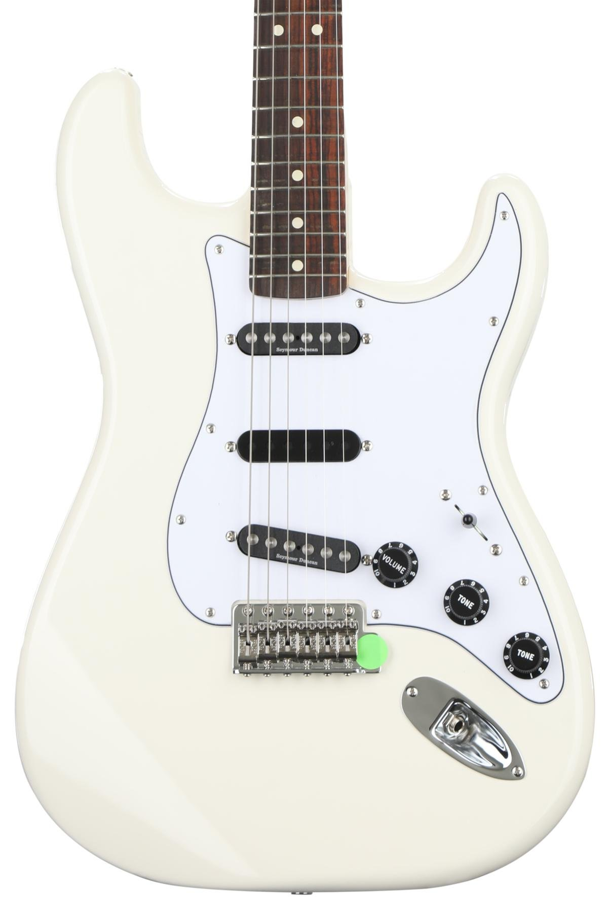 Fender Ritchie Blackmore Stratocaster - Olympic White with Rosewood ...