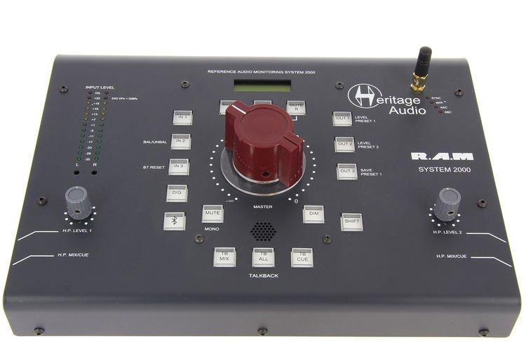 Heritage Audio Ram System 2000 Desktop Monitoring System