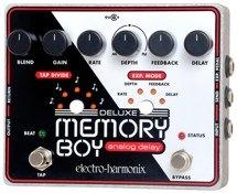 Electro-Harmonix Deluxe Memory Boy Analog Delay Pedal with Tap Tempo