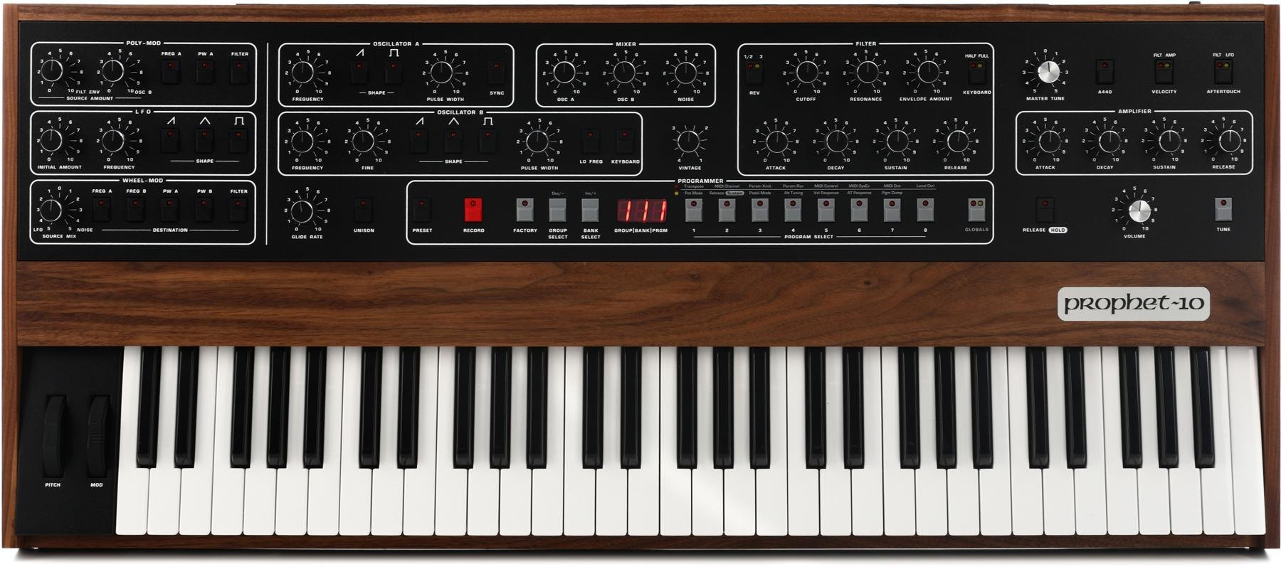 Sequential Prophet-10 61-key Analog Synthesizer | Sweetwater