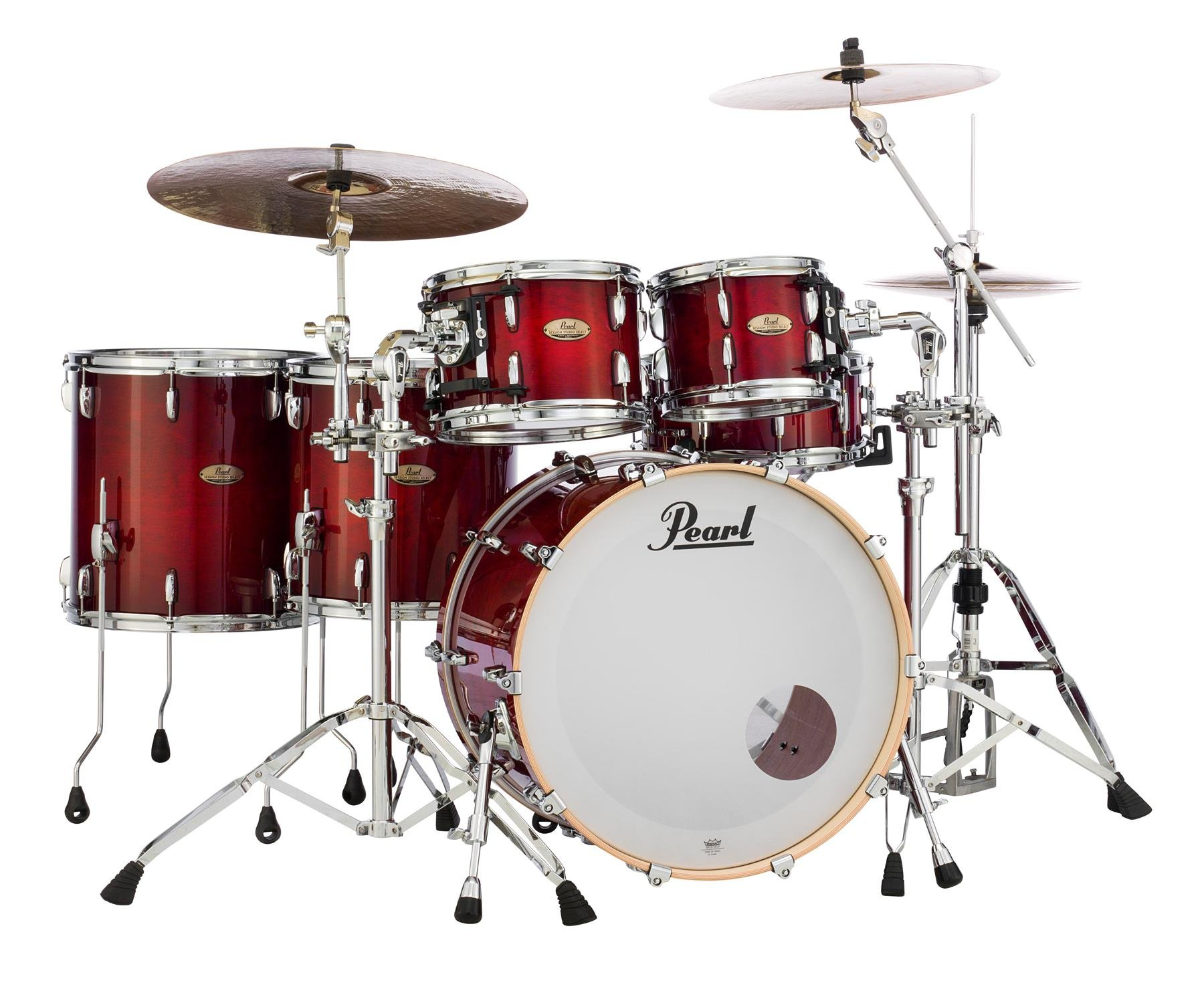 Pearl Session Studio Select Sts925xsp C 5 Piece Shell Pack Antique Crimson Burst Sweetwater