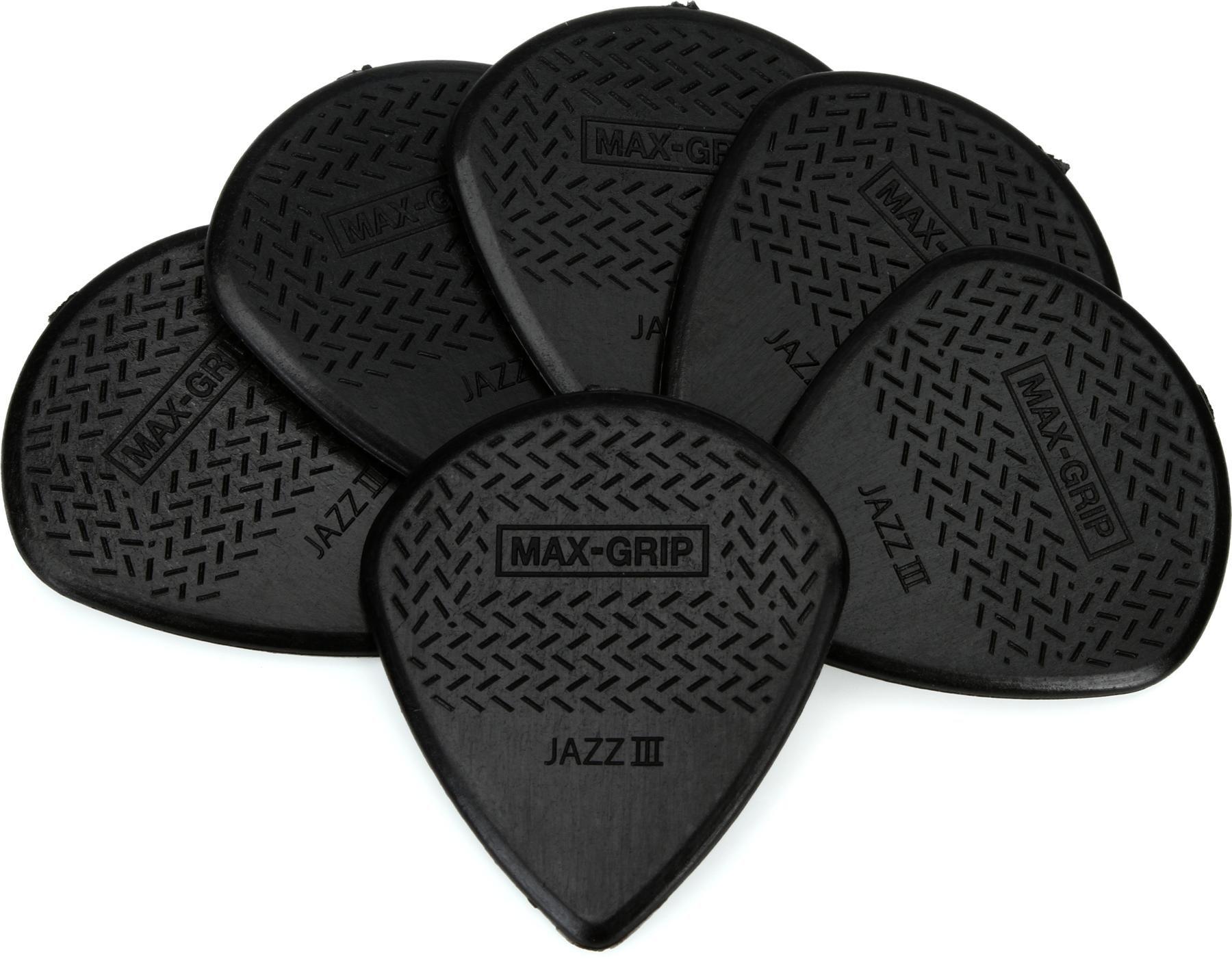 6 Pack Jim Dunlop 471P3SMH Matt Heafy Max-Grip Jazz III Guitar Picks