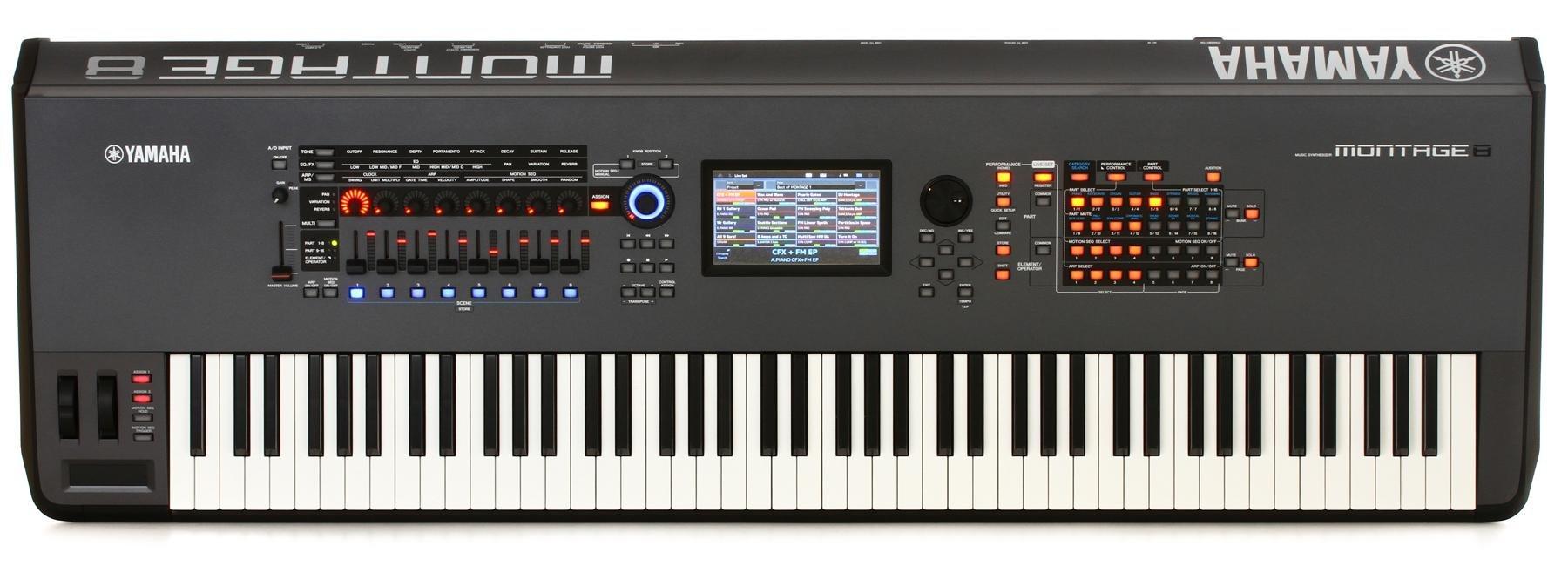 Yamaha Montage 8 88-key Synthesizer | Sweetwater
