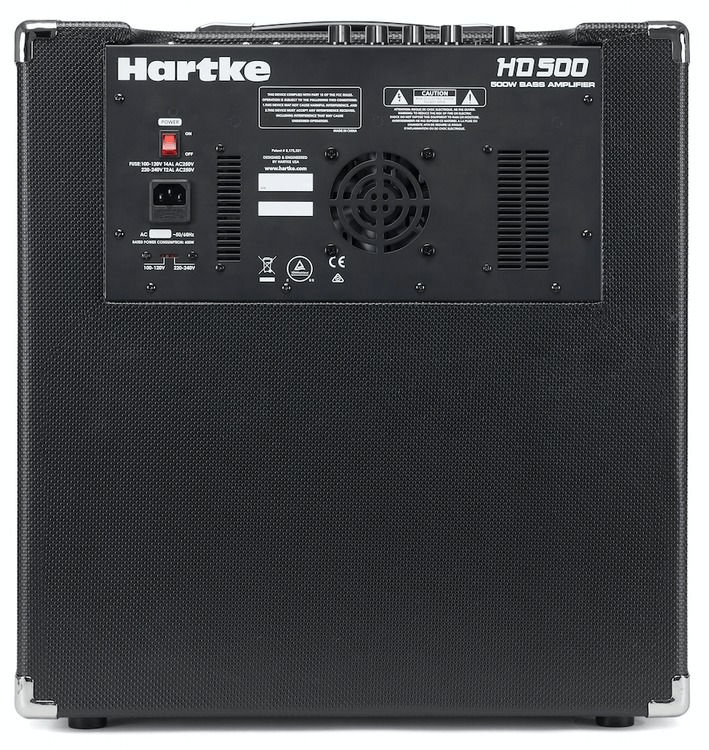 Hartke Hd500 B Combo Amp Features