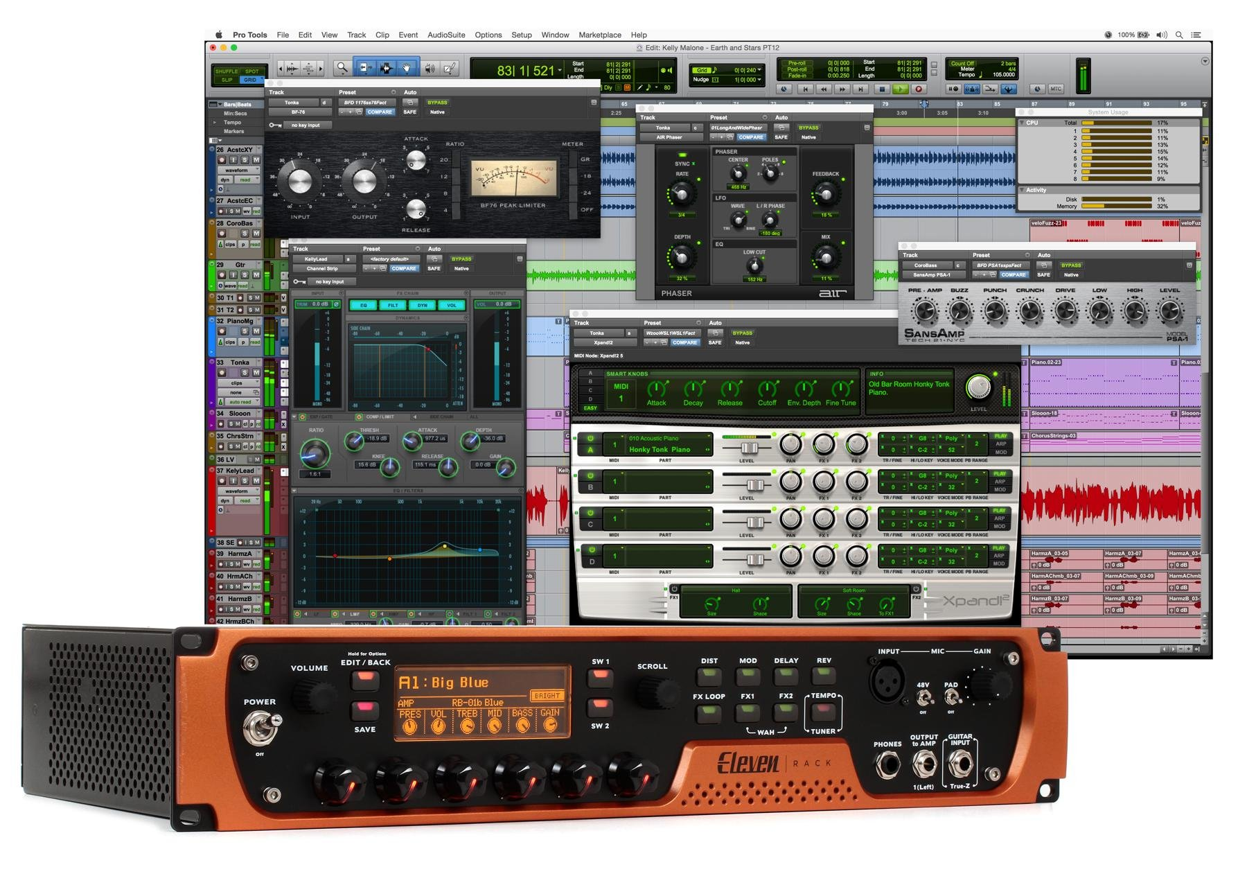 Avid Eleven Rack Special Edition Includes Pro Tools First Image 1