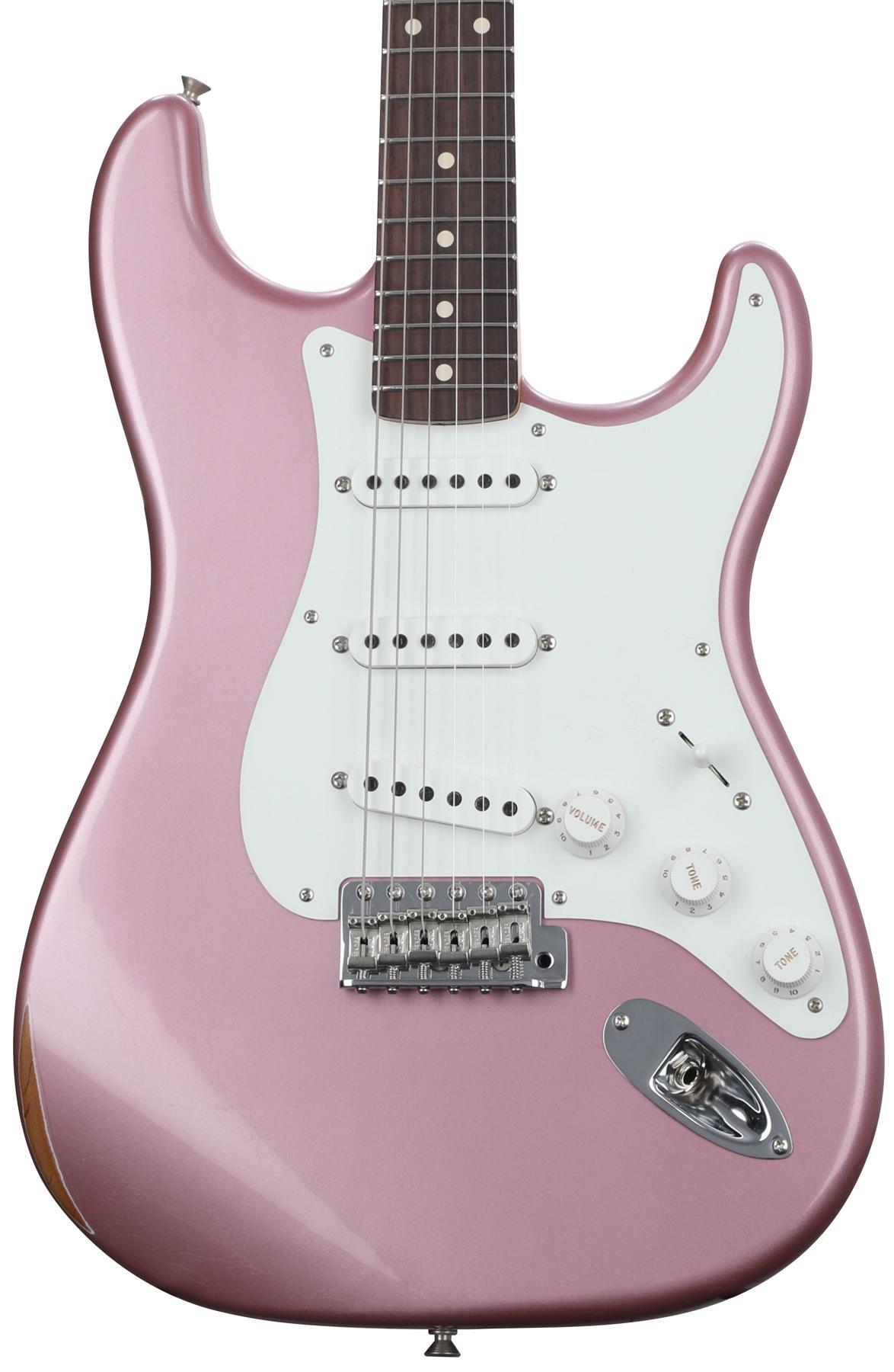 Fender Custom Shop Ancho Poblano Stratocaster Relic Burgundy Mist Guitar Kit Builder Understanding The 5way Switch Metallic Image 1