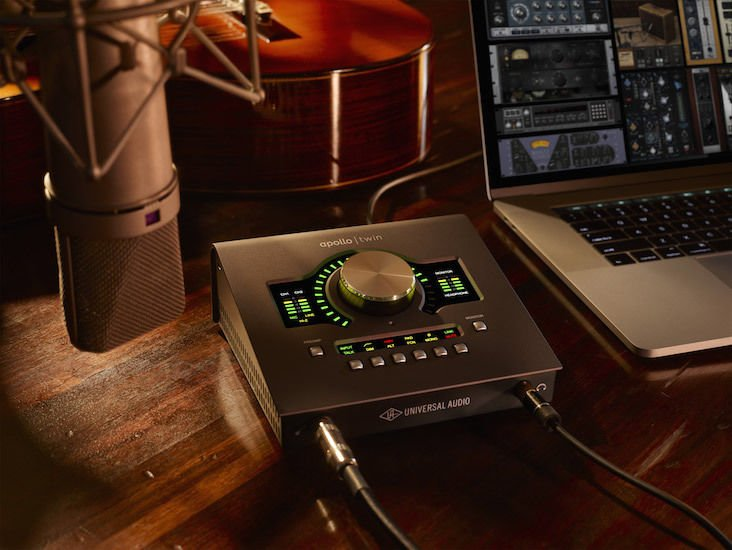 Universal Audio Apollo Twin MKII QUAD 2x6 Thunderbolt Audio