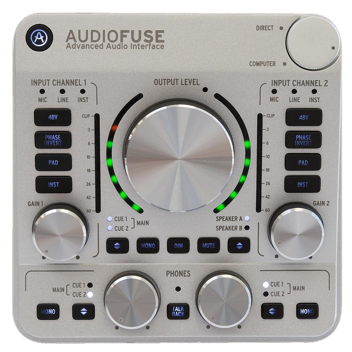 Arturia Audiofuse Classic Silver Sweetwater Audio Fuse Box Image 1
