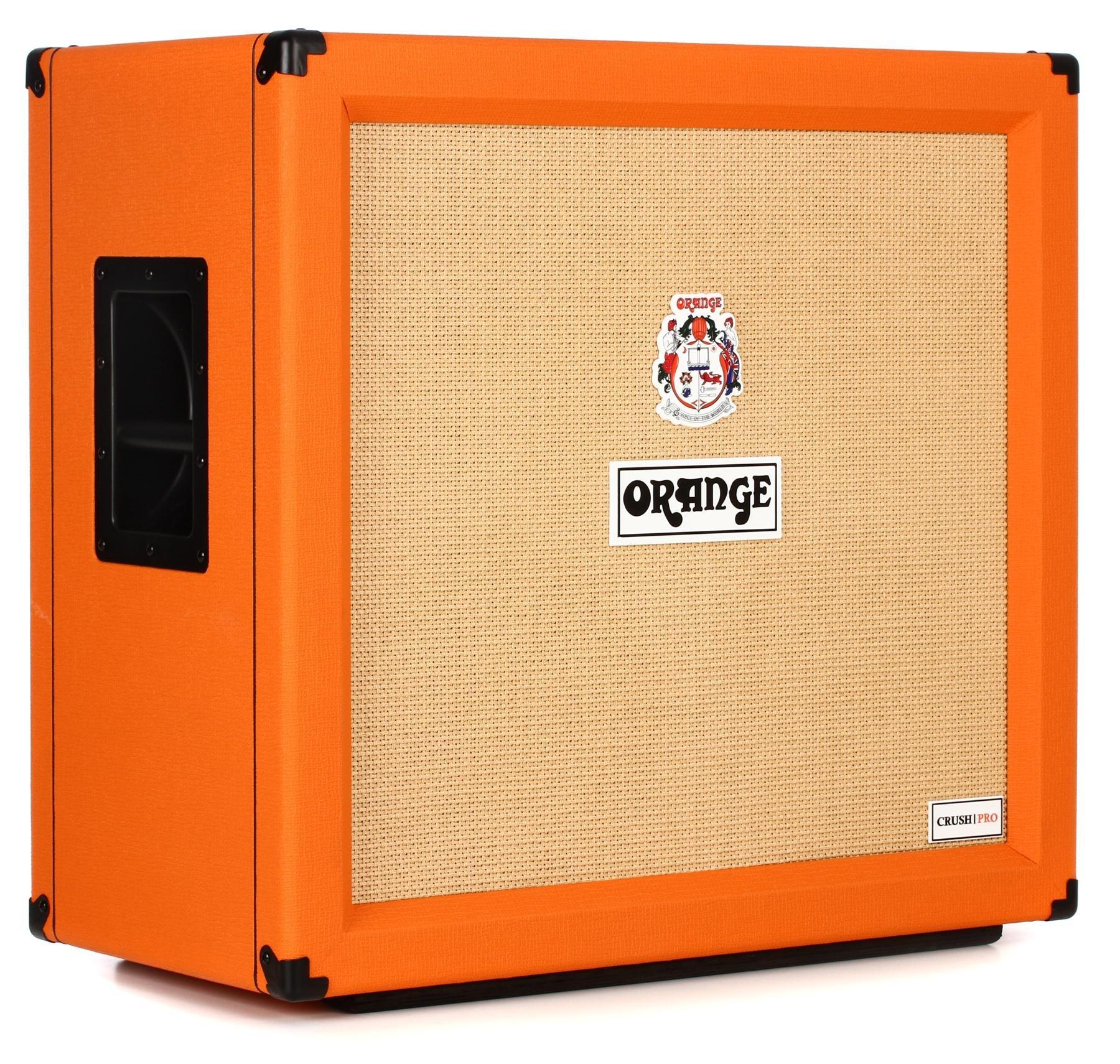 Orange Crush Pro 240 Watt 4x12 Closed Back Speaker Cabinet Guitar Wiring On A 4 X 12 Image