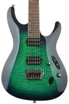 Ibanez S Prestige S6521Q - Surreal Blue Burst