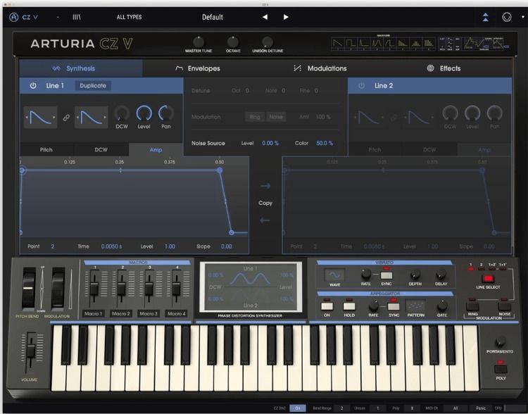 Arturia V-Collection 7 Software Instrument Bundle (download