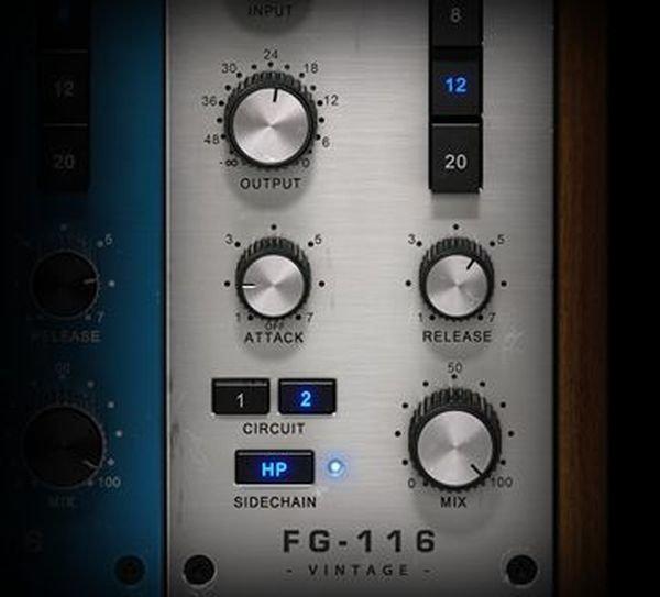 Slate Digital FG-116 Blue Series - FET Compressors   Sweetwater