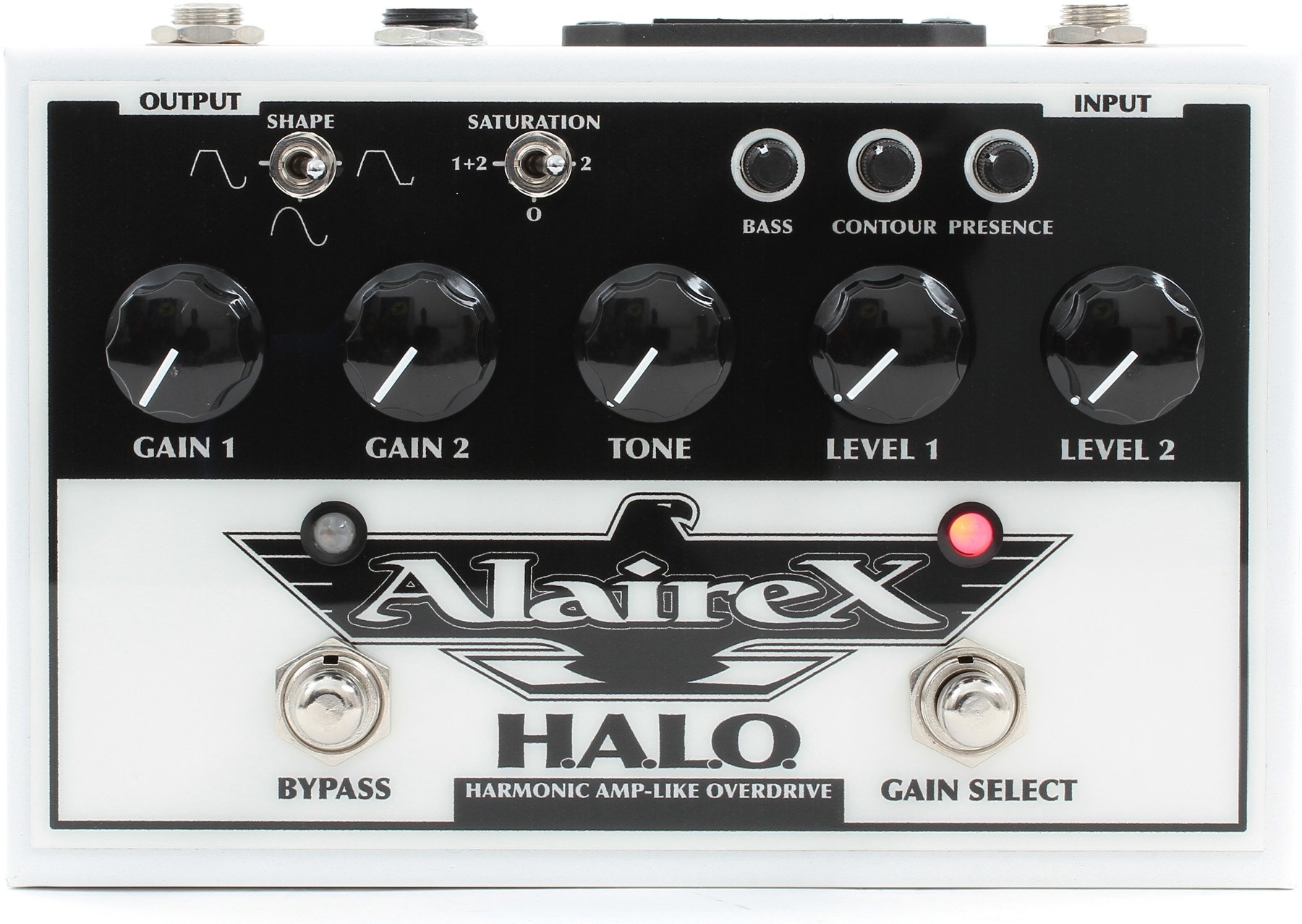 Alairex Halo Overdrive Pedal Sweetwater