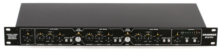 Drawmer 1976 Stereo Saturation and Width Processor | Sweetwater