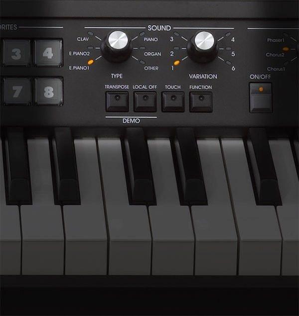 Korg SV-1 88 Stage Vintage Piano - Black | Sweetwater