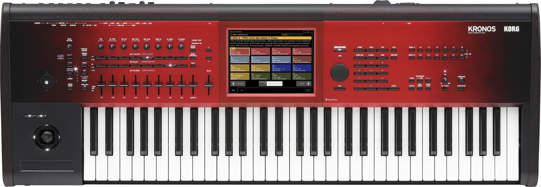 Korg Kronos SE 61-key Synthesizer Workstation | Sweetwater
