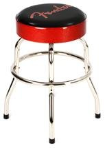 Fender Logo Barstool - Red and Black 24
