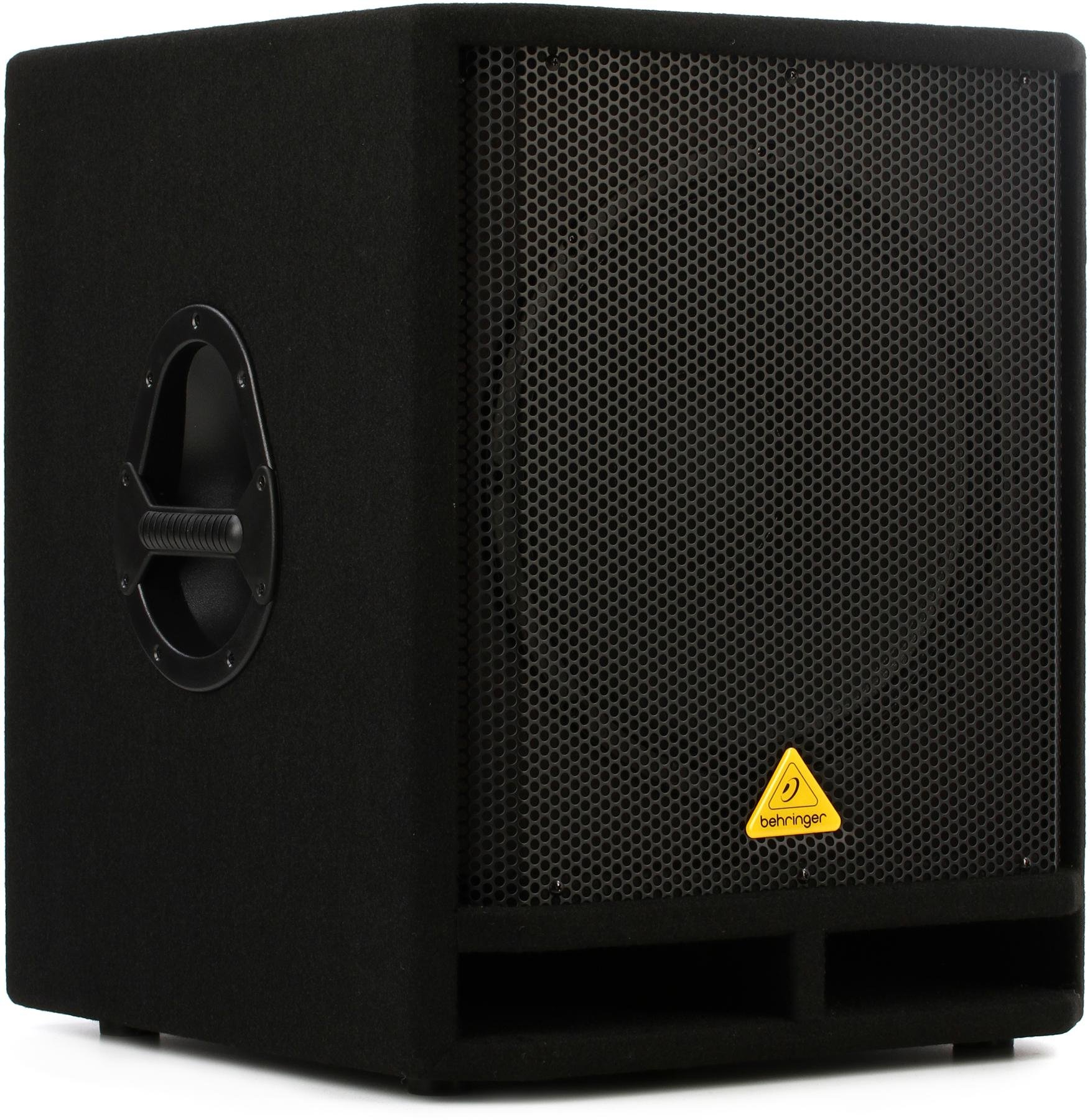 Behringer Vq1500d 500w 15 Powered Subwoofer Sweetwater Tone Control Include Out Image 1