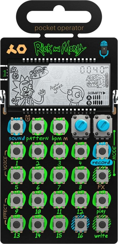 Teenage Engineering Pocket Operator PO-137 - Rick & Morty