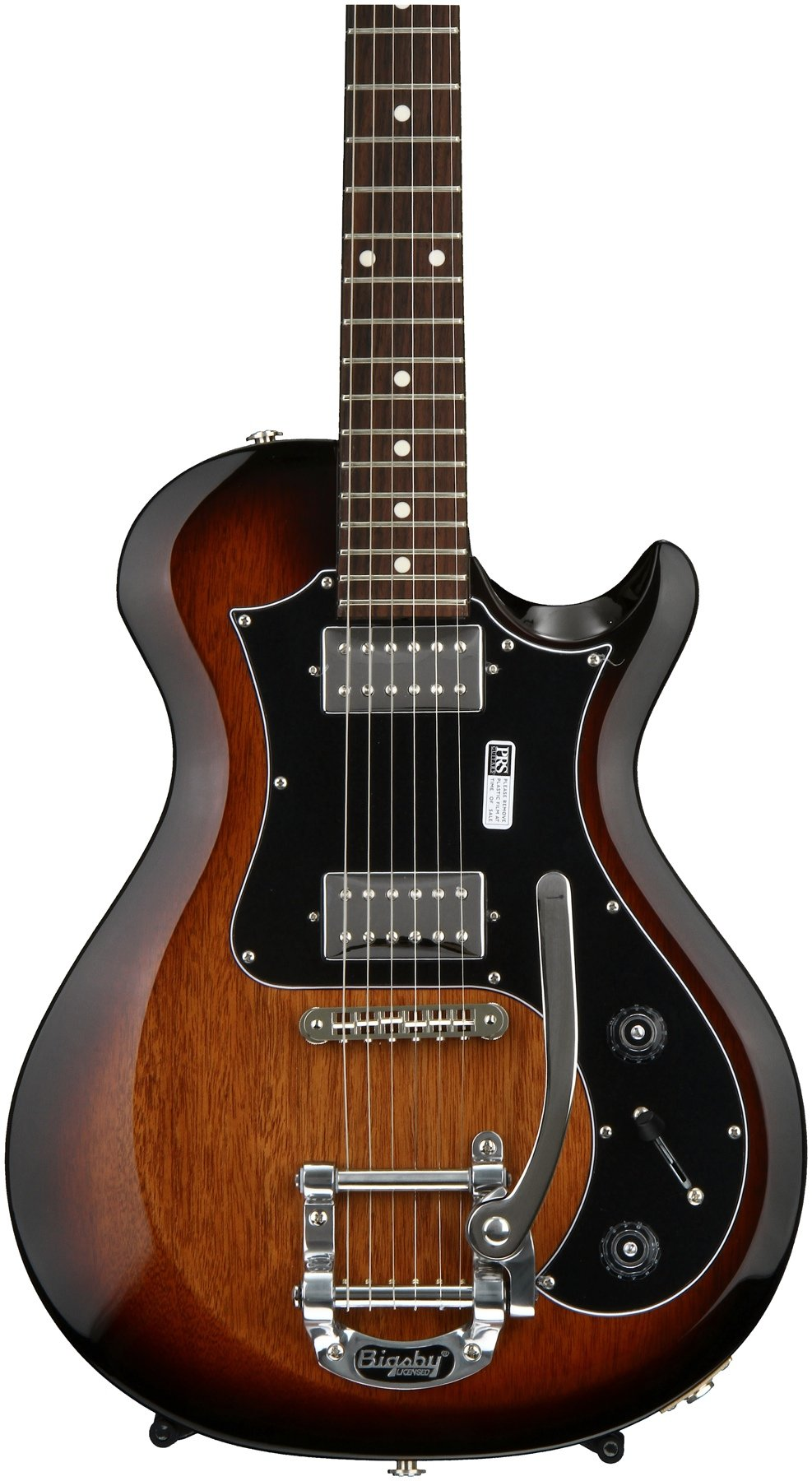 Prs S2 Starla Mccarty Tobacco Sunburst Sweetwater Humbuckers 3way Toggle Switch 2 Volumes Tones Coil Tap Reverse Image 1