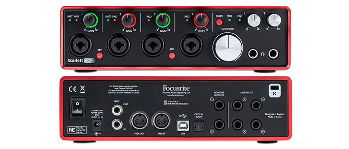 FOCUSRITE 18I8 DRIVER DOWNLOAD