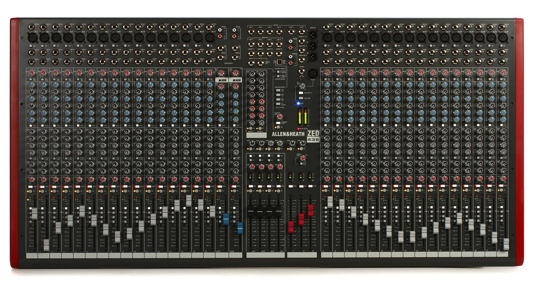 Allen Heath Zed 436 Mixer With Usb Sweetwater Option Than Store Bought Flexible Circuit Boards Give It A Try Image 1