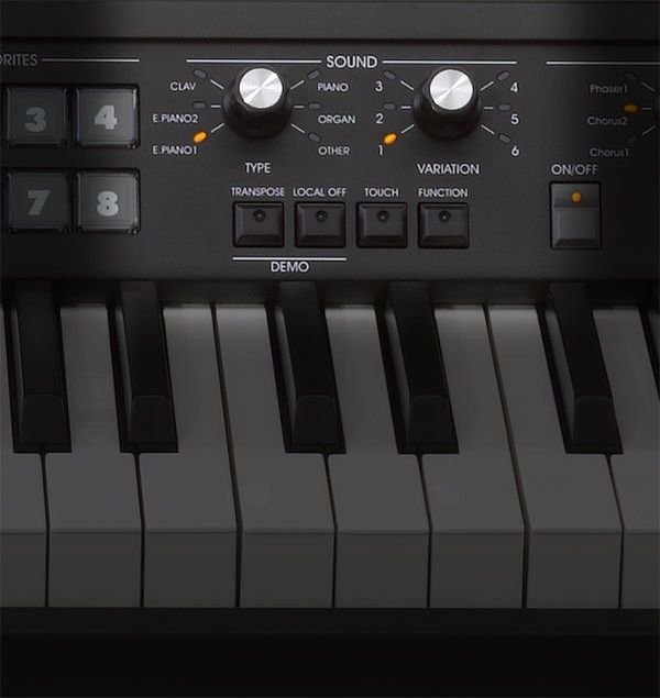 Korg SV-1 73 Stage Vintage Piano - Black | Sweetwater