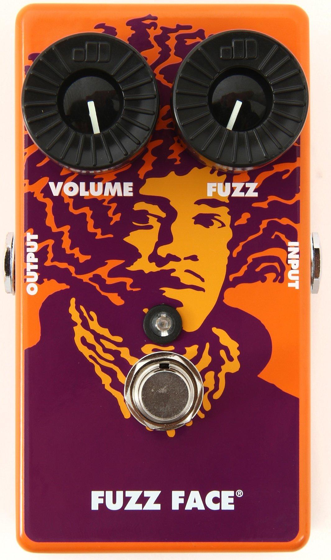 Mxr Jimi Hendrix 70th Anniversary Tribute Series Fuzz Face Sweetwater Pedal Image 1
