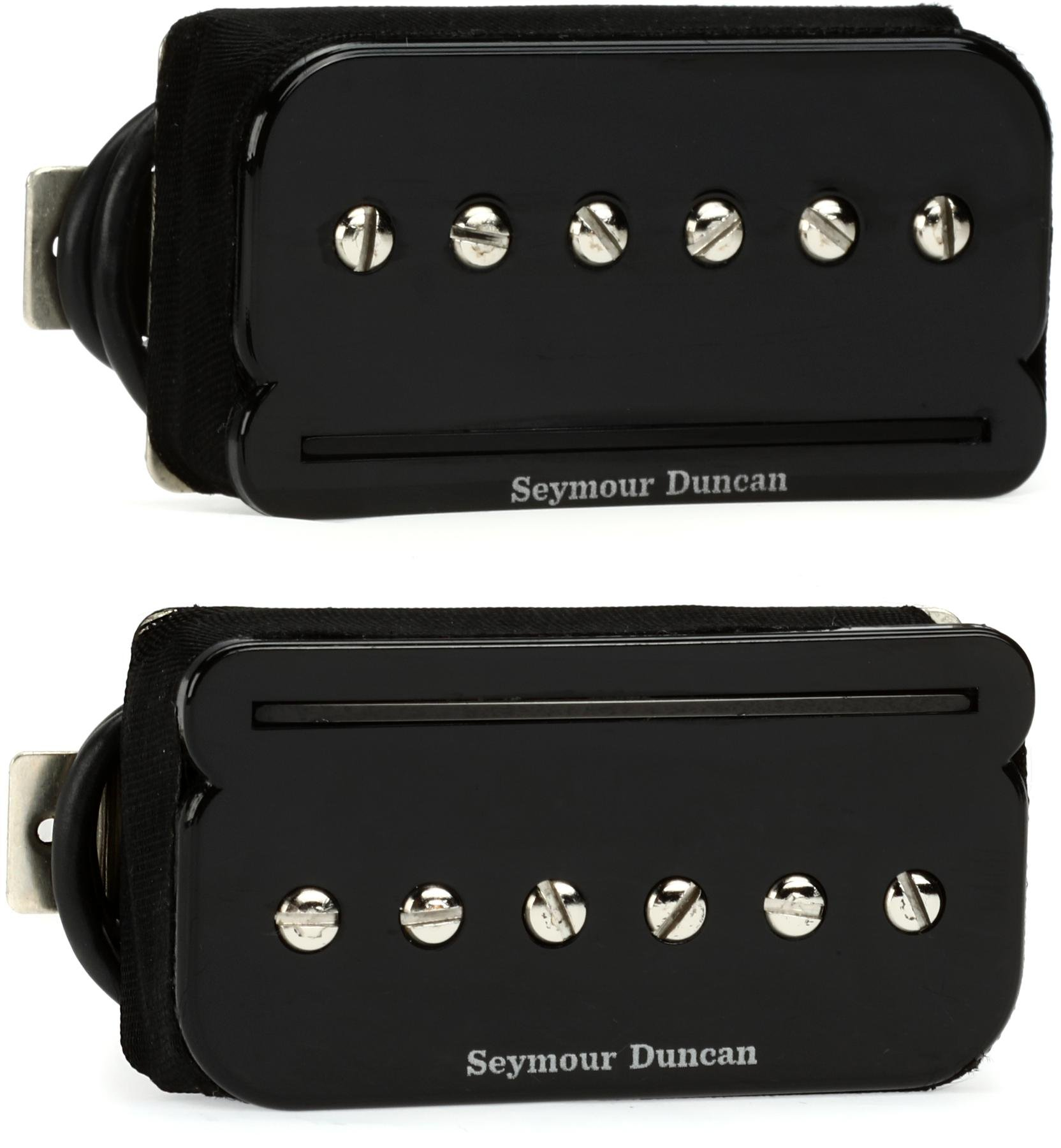 Seymour Duncan Shpr 1s P Rails Pickup Set Sweetwater Used Gibsonstyle Humbucking W Wiring Pots Switch And Image 1