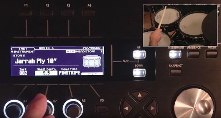 Roland V-Drums TD-50KV 5-piece Electronic Drum Set | Sweetwater