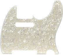Fender Standard Telecaster Pickguard 8-hole Aged White Moto