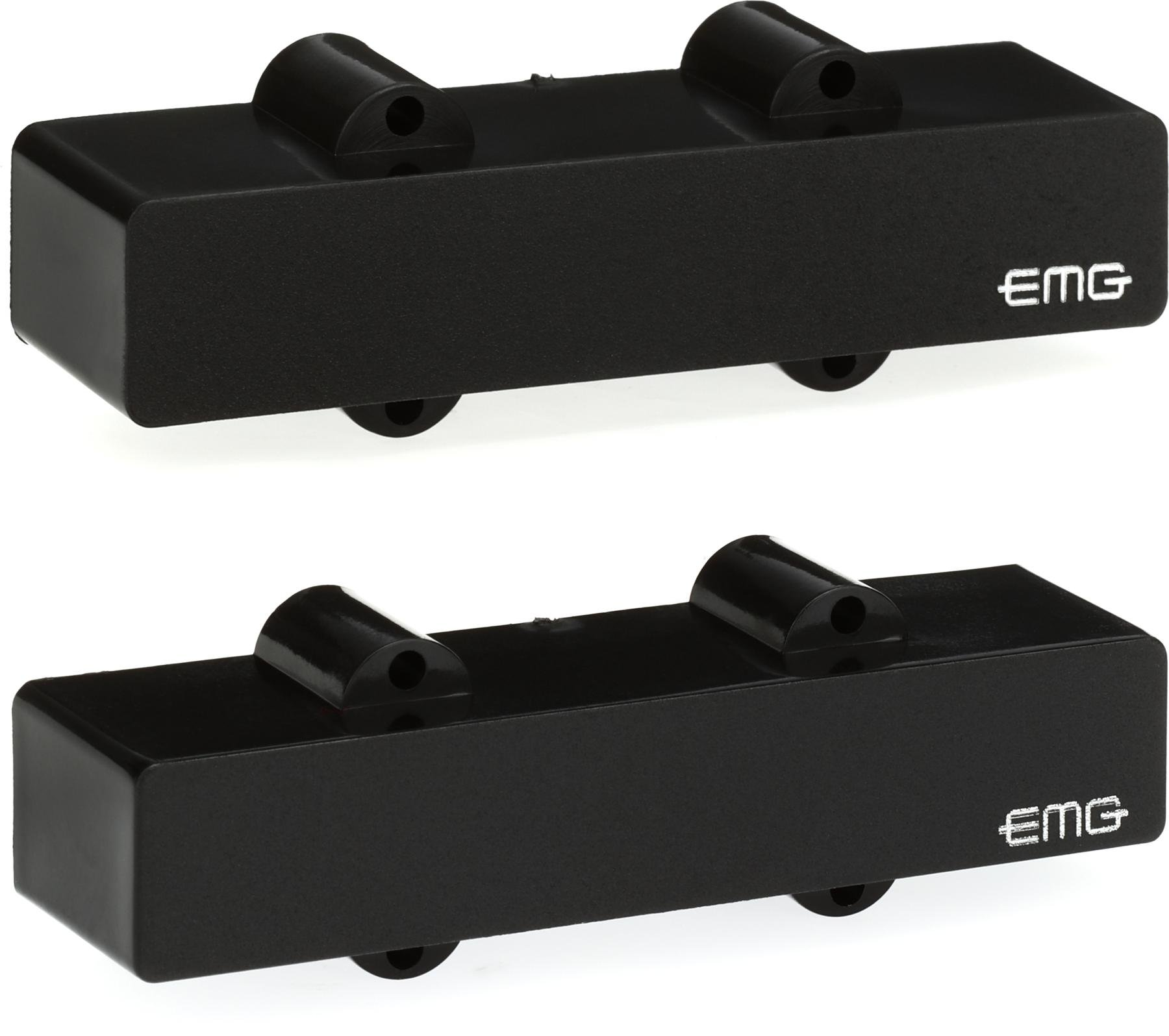 Emg Bqc System 4 Knob Active Bass Preamp Sweetwater Activebass Wiring For Pickups J Set Ceramic Pickup Black