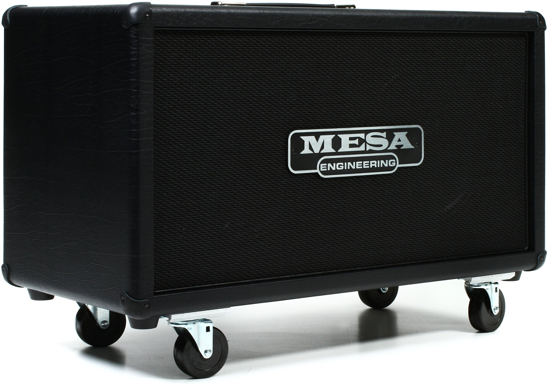 Mesa Boogie Dual Rectifier 100 Watt Tube Head Diamond Faceplate Road Gear 1 Amplifier Cabinet Hitam Sweetwater
