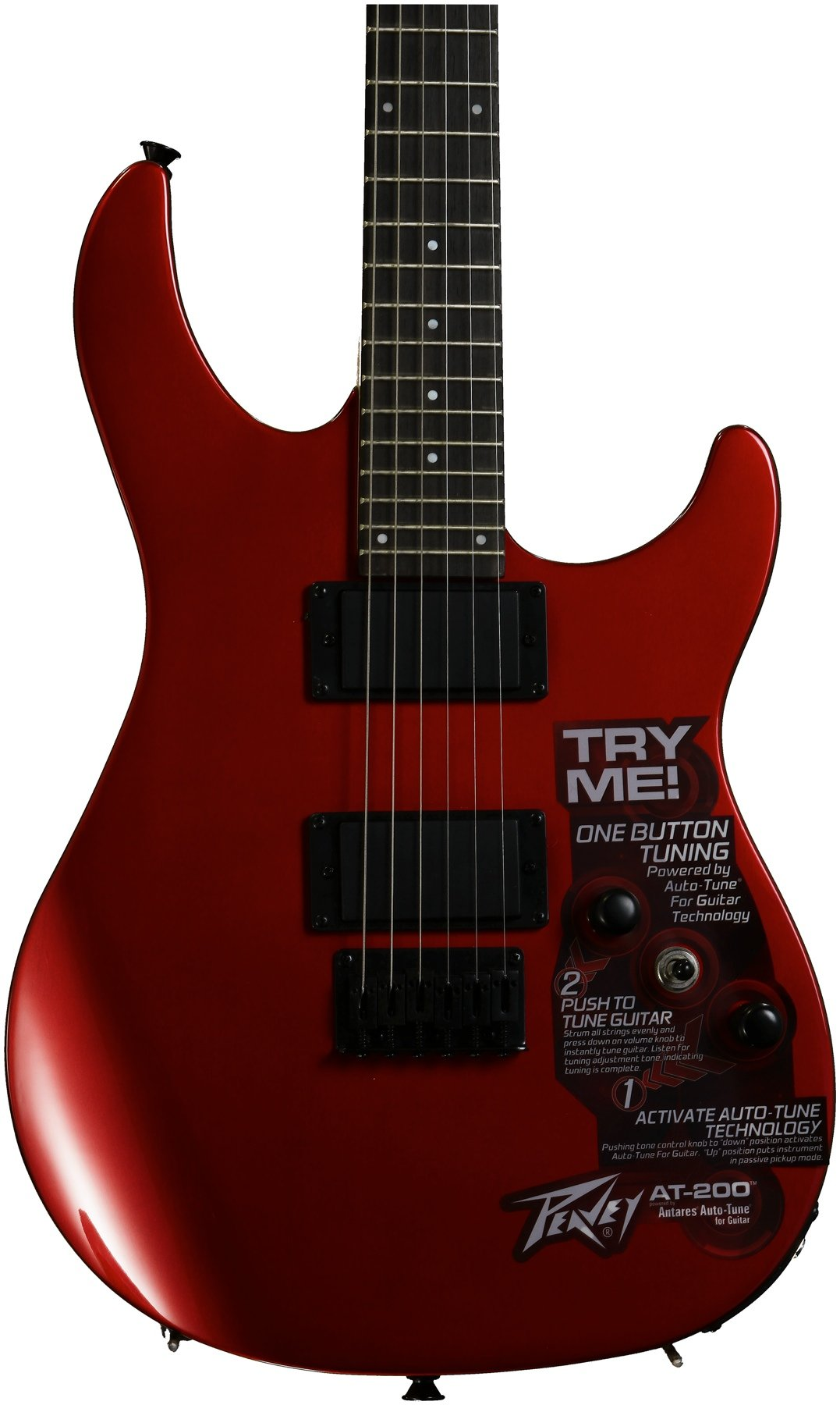 Peavey AT-200 Auto-Tune Guitar - Red | Sweetwater