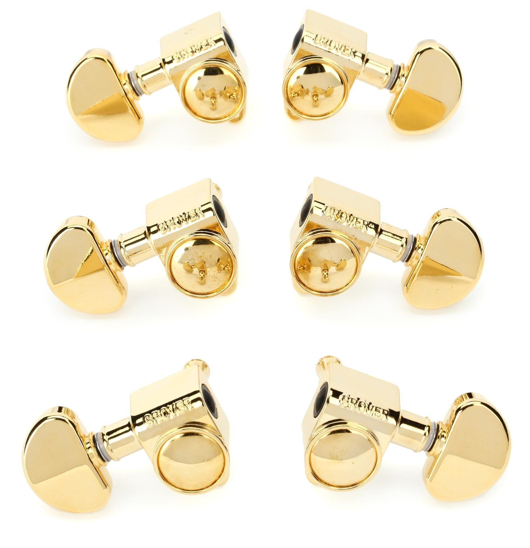18:1 GOLD NEW Grover 102-18G Rotomatic 3X3 Tuning Keys