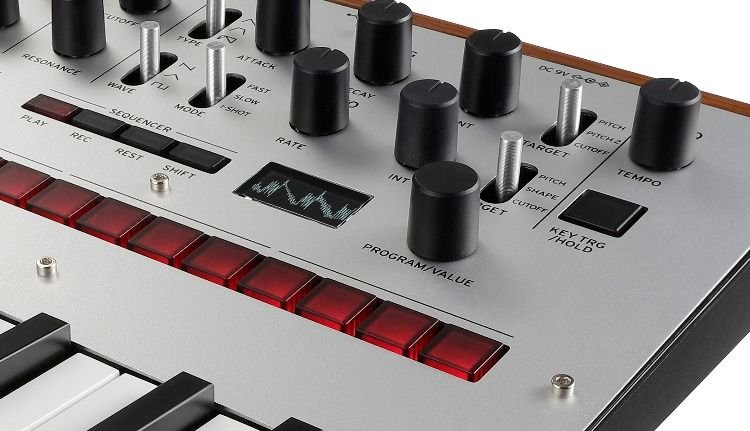 Korg monologue Analog Synthesizer - Silver | Sweetwater