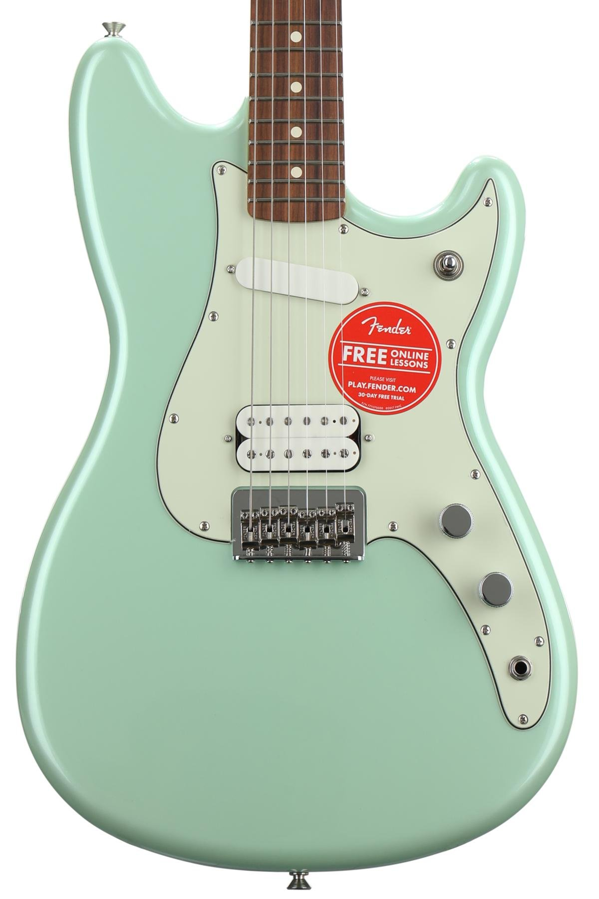 Fender Duo Sonic Hs Surf Pearl With Pau Ferro Fingerboard