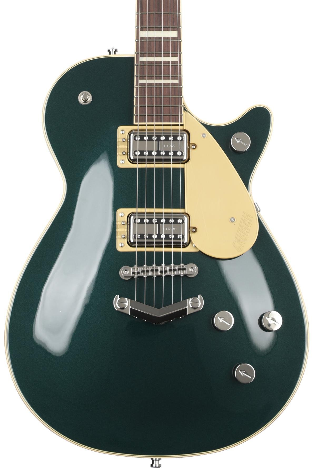 Gretsch G6228 Player's Edition Duo Jet - Cadillac Green Metallic image 1