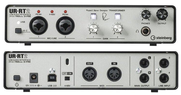 steinberg audio interface neve