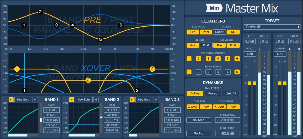 Tracktion Master Mix Stereo Mastering Plug-in | Sweetwater