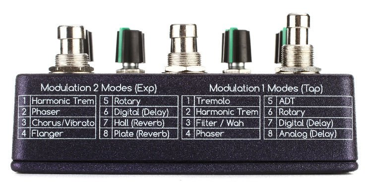 Keeley Super Mod Workstation Multi-effects Pedal | Sweetwater